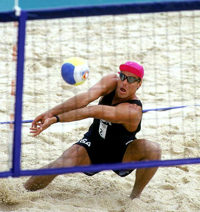 The only person to have won Olympic gold medals in both indoor and beach volleyball.