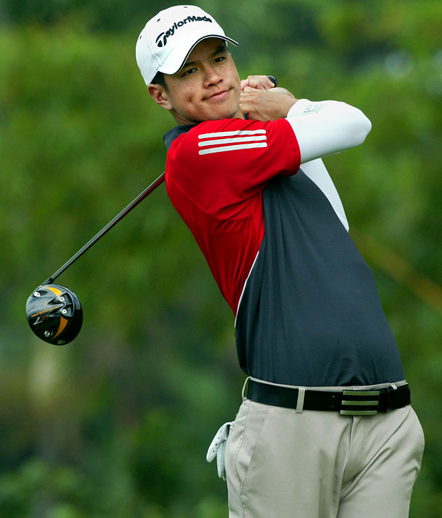 The youngest on the list at 23, the Singaporean golfer appropriately went to Q-school to qualify for this year's Asian tour.