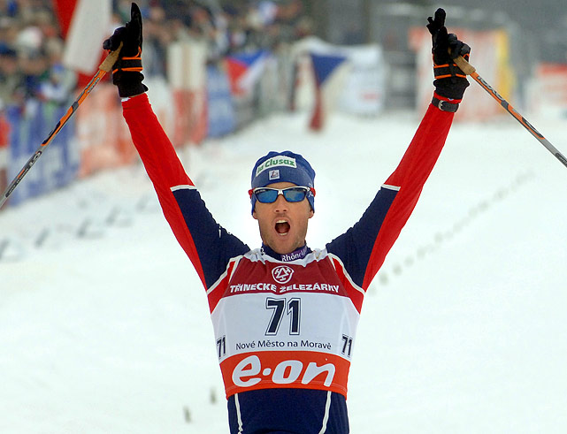 In my original blog post, Vladimir Vasin, a diving gold medallist from Russia, defeated former Wimbledon quarterfinalist Vladimir Voltchkov in this spot. But what's not to like about Vincent Vittoz (pictured) -- a cross country skier from France who has won seven World Cup individual events and competed in the last four Winter Olympics.