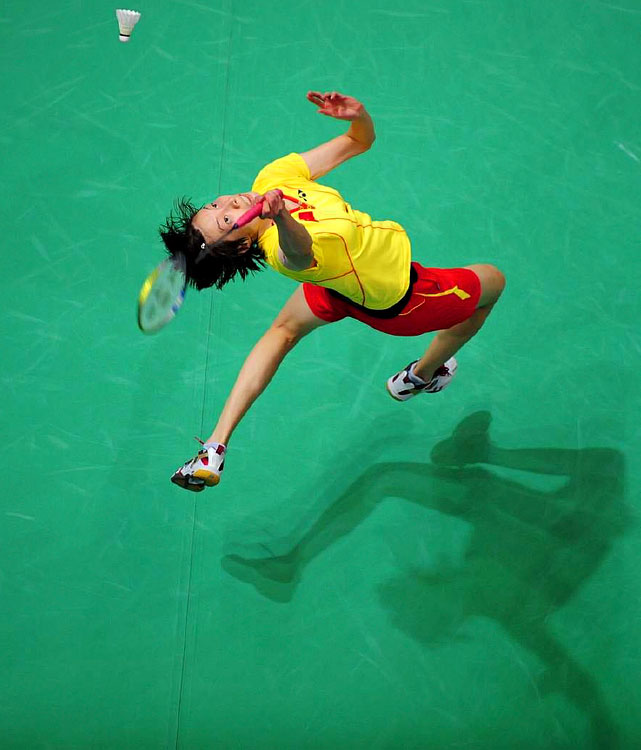 A two-time badminton world champion (2005, 2006) and silver medalist at the 2008 Summer Olympics in Beijing, Xie Xingfang is extra special.