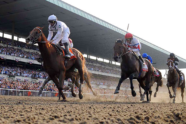 Drosselmeyer (left) had been an underachiever all year in finishing fourth, third and second in his last three starts.
