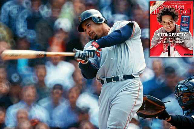 It wasn't quite the deal Rodriguez got, but in the free agent frenzy of the 2000 offseason, Ramirez also struck gold. He signed an eight-year, $160 million contract with Boston after the Red Sox outbid his old team, the Cleveland Indians. Despite some strange and at times controversial behavior on field and off, Ramirez rewarded his new team over the course of the next seven-plus seasons with his brilliant hitting. He smashed 274 homers during that span and helped the Red Sox to two World Series, the first in 2004 that ended an 86-year title drought for the franchise.