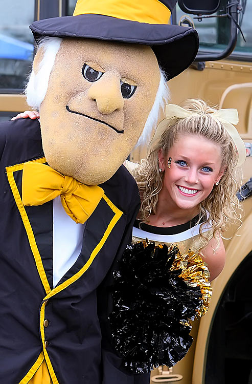 Meet Wake Forest's Erin! A senior from Charlottesville, Va., Erin is a communications major and big-time country music fan. One day she hopes to see the Super Bowl in person, presumably with her favorites, the Kansas City Chiefs, gunning for a win.  Want to find out more? Click the '20 Questions' link below.