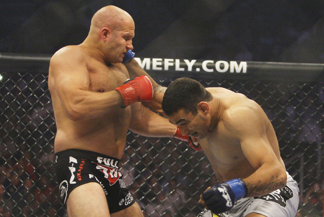 It was supposed to be just another fight for Fedor Emelianenko. Leading up to his June 26 Strikeforce battle against Fabricio Werdum, Fedor's decade of dominance was only preceded by his reputation of almost mythical proportions. But 69 seconds and one triangle choke later, Fedor was forced into submission and Werdum, a Brazilian jiu-jitsu specialist, had pulled off an MMA upset for the ages.