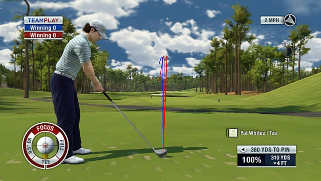 Tiger Woods' A Game and Q Score aren't what they used to be, but his video games are still going strong. The most recent release in Woods' franchise builds on the title's solid foundation while upgrading many key features. All new Ryder Cup play lets you choose which team you want to represent before letting you swap in and out of groups from hole to hole, depending on who's winning and losing. You can still pull off amazing shots with spin, power-ups and previews, but the new Focus Meter keeps you honest by limiting how often you can use those mid-flight adjustments. New shot types and a realistic gameplay mode called True Aim have also been added to make sure you won't get bored, no matter how much time you spend on the links.  Score: 9/10   Game Room Video Review: Tiger Woods PGA Tour 11