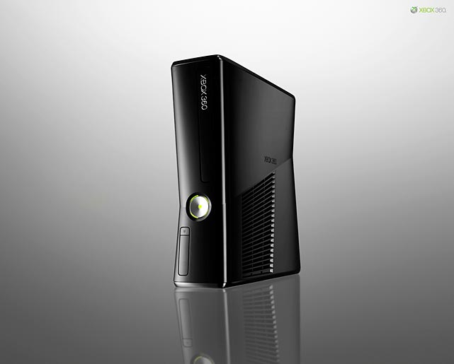 In a surprise move at the E3 conference, Microsoft unveiled the latest Xbox 360 model and announced it was already shipping to retailers. The new model is sleeker and smaller than the original 360 and features built-in Wi-Fi, a 250 GB hard drive, five USB ports, a digital optical audio out port, an Ethernet port, a Kinect port and an HDMI out port. The unit runs much quieter than its loud predecessors, which is a welcome improvement. The Slim retails for $299 and comes with a controller and composite connection cables. Sadly, Microsoft didn't include an HDMI cable or component cables for its flagship product. Microsoft says a less expensive version is coming in the fall, but has not released the details on what that unit will include.  Score: 9.5/10