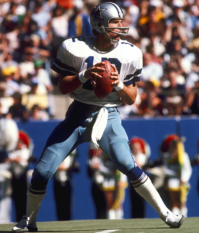 Cowboys quarterback Roger Staubach scored two touchdowns in the final minutes of the fourth quarter, leading his team to a 35-34 victory against the Redskins in the final 2:20 of the game in Texas Stadium. The win allowed the Cowboys to steal away an NFC East title and a spot in the playoffs from the Redskins.