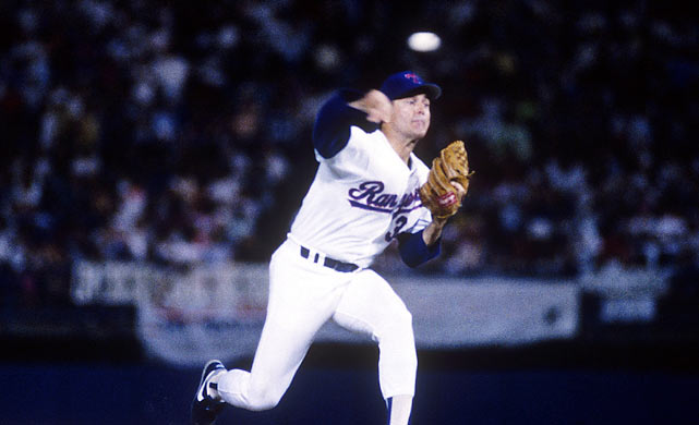 Nolan Ryan became the first pitcher to reach 5,000 strikeouts when he whiffed Rickey Henderson of the Oakland A's on Aug. 22, 1989. After the game, Henderson said that it was an honor to be Ryan's 5,000th strikeout.