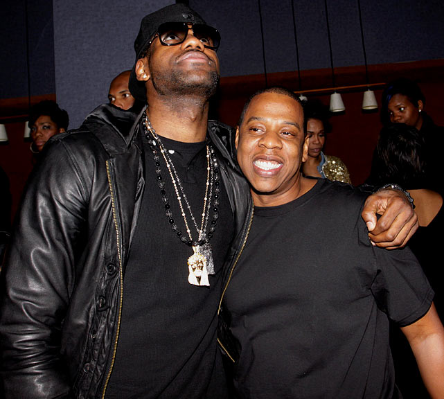 LeBron and hip-hop mogul Jay-Z are close friends but what must worry the Cavaliers is that Jay-Z is also part-owner of the New Jersey Nets. In an interview with  Rolling Stone , however, Jay-Z said he would not play a part in his friend's choice, saying it would be up to LeBron to make the best decision for himself.
