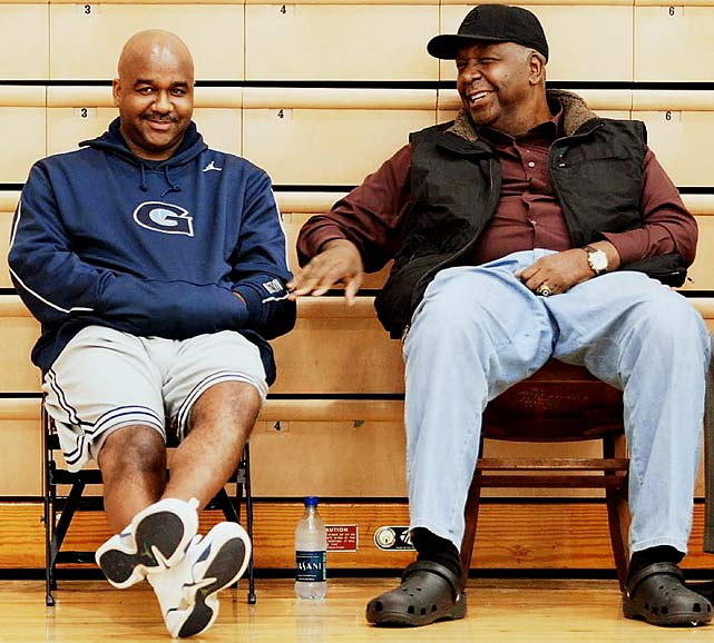 The younger Thompson revitalized the Georgetown basketball program his father once ran.