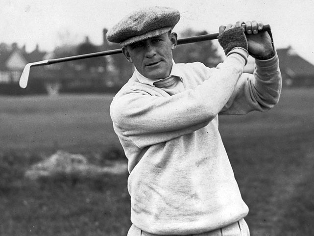 Tied  at 282 after 72 holes of regulation in 105-degree heat in Toledo,  Billy Burke and  George Von Elm (pictured) took not one, but two extra  days to decide a winner. In 1931, the U.S. Open's playoff consisted of a 36-hole format. And after those 36 holes, both golfers stood at 7-over 149.  That forced another 36-hole playoff, in which Burke shot 148, one better than Von Elm's 149.