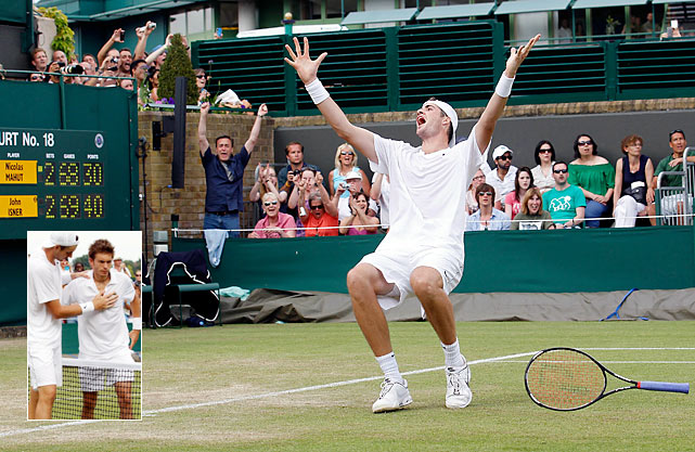 John Isner and Nicolas Mahut battled before an appreciative crowd for 11 hours, 5 minutes, interrupted by a bathroom break after their first six hours and also by two suspensions of play due to darkness. After play resumed on the third day, the gallant pair went their final 20 games and 65 minutes before Isner prevailed, 6-4, 3-6, 6-7 (7), 7-6 (3), 70-68. Of note is that the scoreboard gave out before the players did. Here are some other events that hold the record for their respective sport.
