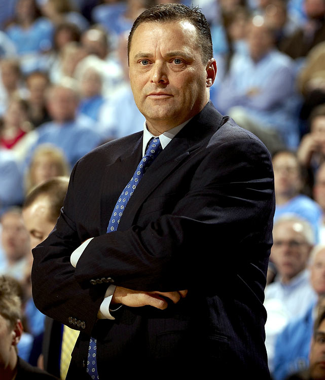 Billy Gillespie was fired after two years in Lexington with a 40-27 record. Gillespie signed a memorandum of understanding when he took the job, but a dispute over the wording of a formal contract led Gillespie to never formally sign, and he was never paid the $6 million buyout that was to be included in that deal, instead getting a $2.98 million settlement.