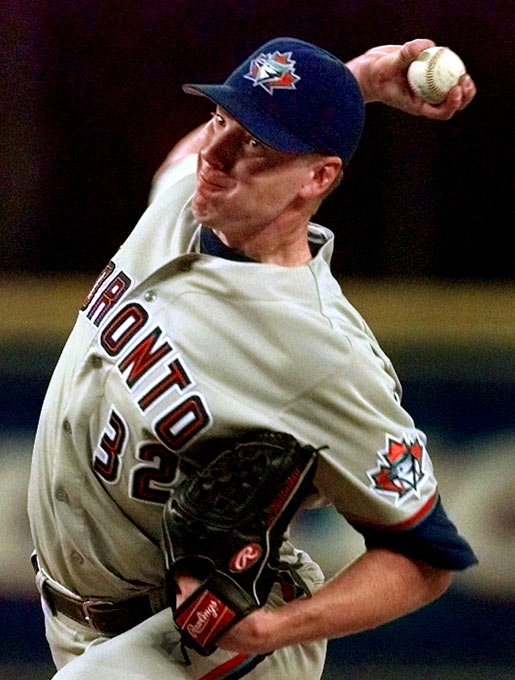 Doc Halladay's debut for Toronto was a five-inning, three-run outing that included five strikeouts, but he was long gone from the game when the Blue Jays finally won in 12 innings. In his second start, Halladay took a no-hitter into the ninth inning, before Detroit's Bobby Higginson hit a solo homer with 2 outs that ruined his bid.