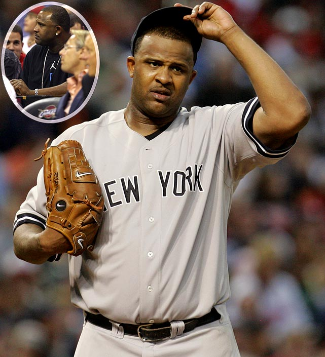 Though Sabathia was booed at a Cavaliers playoff game two nights earlier by Cleveland fans, they were more subdued when he took the mound against his former team. Sabathia pitched seven innings and struck out eight in a Yankees win.