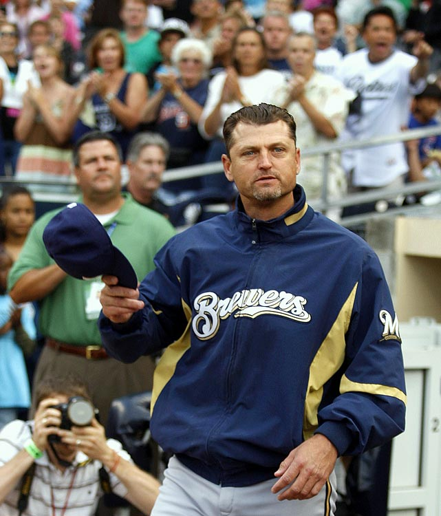 """Though Hoffman's signature entrance song """"Hells Bells"""" didn't blare out of the public address system as he entered the game in a different uniform with the Brewers, Padres fans gave Hoffman a warm welcome in his return to the city in which he had 552 saves in 16 seasons. Hoffman retired the side with little trouble, striking out two."""