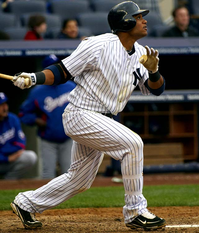 Considering the list of big boppers wearing the famous pinstripes this season, it comes as a surprise that the Yankees' best hitter so far in 2010 is second baseman Robinson Cano. With 12 home runs, 42 RBI and a league-leading .373 batting average, Cano is making his case for AL MVP.