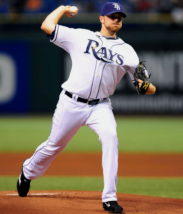 Davis Started the season 4-1 but stood 5-8 as of June 23. The third-round pick in the 2004 MLB Draft is yet another home-grown Rays prospect contributing on a team loaded with talent.