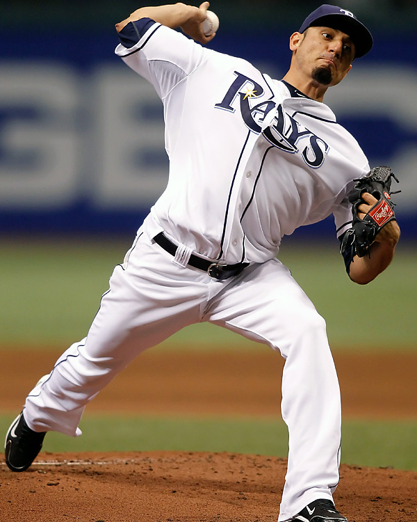 The Tampa Bay Rays finally wound up on the right side of a memorable pitching performance. Matt Garza threw the first no-hitter in franchise history and the fifth in the major leagues this season, beating the Detroit Tigers 5-0. The 26-year-old right-hander faced the minimum 27 batters in his 106th career start, allowing only a second-inning walk to Brennan Boesch. It's only the third time in major league history that a team has been involved in three no-hitters during one season.