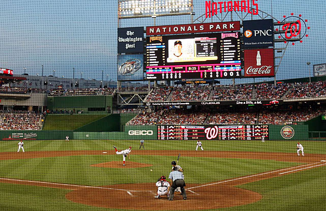 SI photographer Chuck Solomon was in Washington, D.C., for phenom Stephen Strasburg's first game in the majors, during which the Nationals pitcher struck out 14 and walked none.