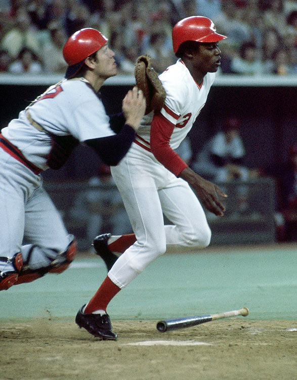 In the 1975 World Series between the Red Sox and Reds, Cincinnati's Ed Armbrister laid down a sacrifice bunt in a tie game with a runner on first in the bottom of the 10th inning. But as Sox catcher Carlton Fisk attempted to make a play on the ball and throw to second to get the lead runner, Armbrister lingered near home plate, causing a collision with Fisk and forcing an errant throw into center field. Home plate umpire Larry Barnett refused to call interference on Armbrister, despite the seemingly obvious attempt to block Fisk from making the play. The non-call eventually helped the Reds score the winning run. They took a 2-1 lead in the Series, which they won in seven games.