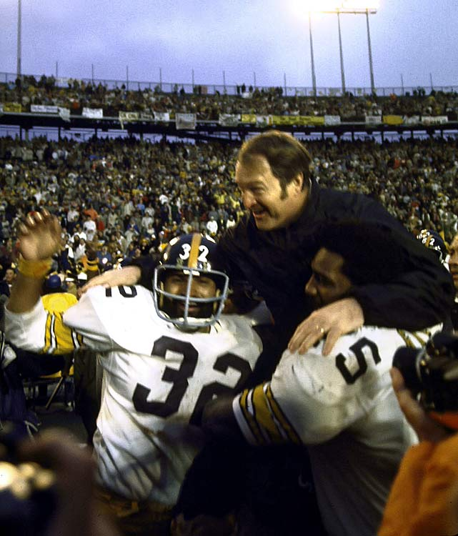 Noll is the only head coach in NFL history with four Super Bowl trophies, guiding the Steelers to the promised land in 1974, 1975, 1978 and 1979.