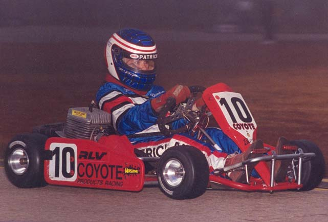 At 13, Patrick continued to hone her karting skills, this time in Jacksonville, Fla.