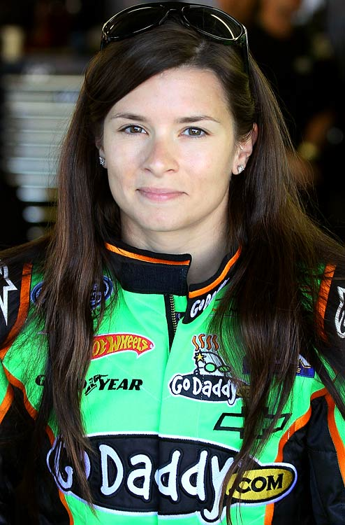 Danica's licensed merchandise was one of Nascar's top sellers at the start of the year, despite her status as a part-time racer in Nascar's junior circuit.