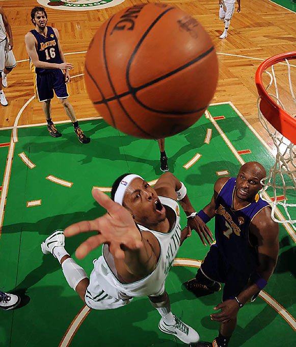 Boston outhustled L.A. in Game 4, snatching 16 offensive rebounds and forcing 16 turnovers. The Celtics also had 12 steals.
