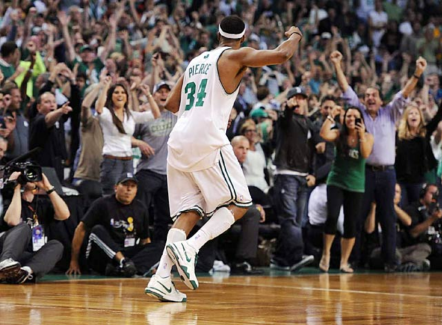 Paul Pierce, who previously said the series wouldn't go back to L.A., will do just that as he and the Celtics look to close it out in Game 6 Tuesday.
