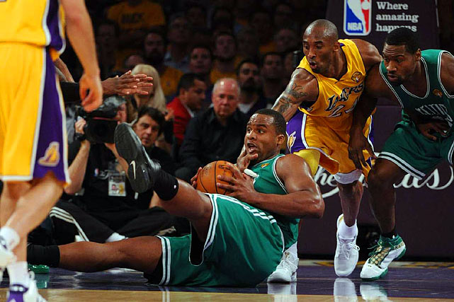 Glen Davis was the only Boston bench player to score (six points) while also coming up big on the glass (nine rebounds).