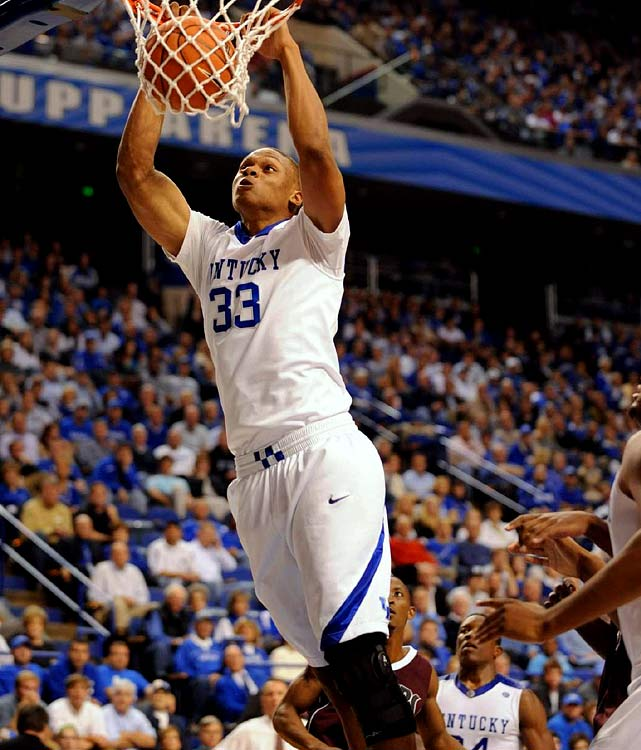 Kentucky, Freshman Center 6-10, 260 pounds, 19 years old  Physically gifted big man with the length, size, athleticism and basic skills NBA teams look for in a prototypical center.