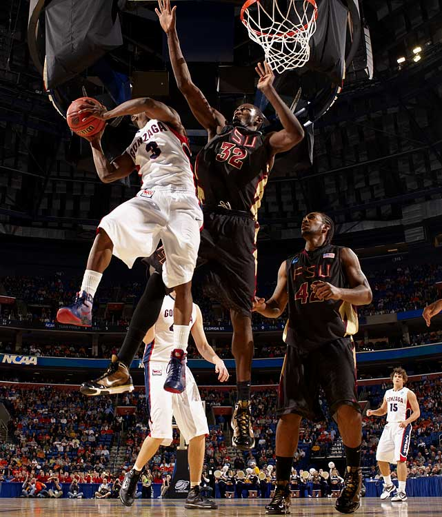 Florida State, Sophomore Center 7-1, 251 pounds, 22 years old  Long, mobile big man with spectacular defensive potential.