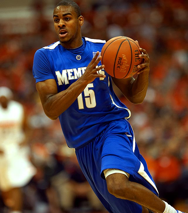Memphis, Sophomore Shooting Guard 6-4, 175 pounds, 20 years old  Athletic combo guard who can create his own shot and guard either backcourt position.