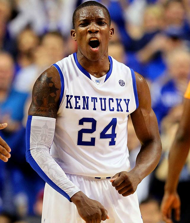 Kentucky, Freshman Point Guard/Shooting Guard 6-1, 190 pounds, 19 years old  Long, athletic combo guard who plays hard and has plenty of room to improve.