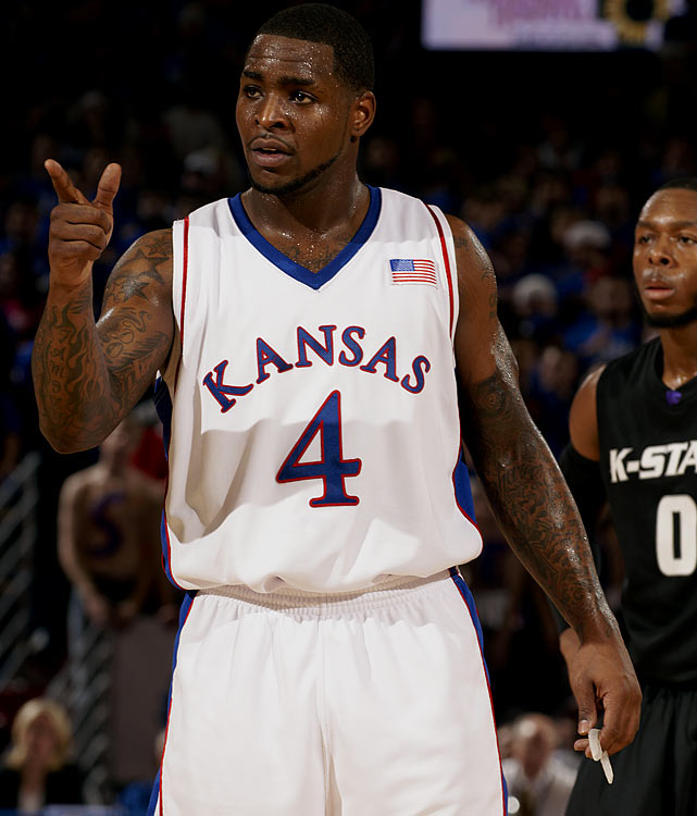 Kansas, Senior Point Guard 5-11, 190 pounds, 23 years old  Aggressive, experienced combo guard with a long resume of clutch scoring.