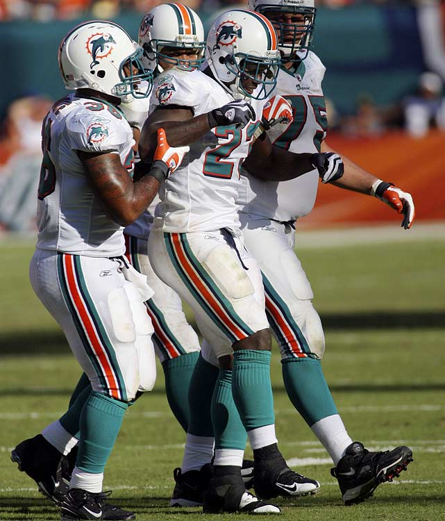 """By the time OTAs roll around, you don't want to hear your star running back announce that he's still, """"a ways"""" from 100-percent. But that's what Ronnie Brown did. There's no question he can still dominate a game, but missing 19 games over the past four years is not exactly promising.   Who would you add to the list? Send comments to siwriters@simail.com."""
