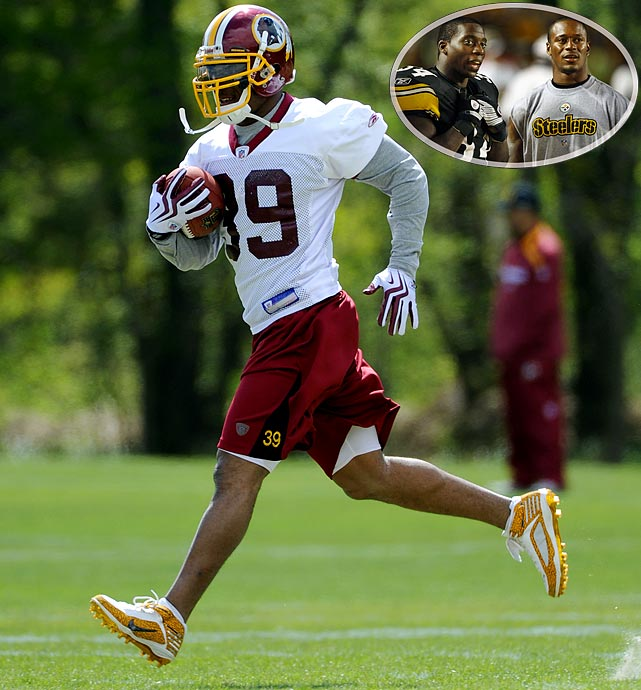 """Perhaps his nickname should be Willie """"Pipp."""" Injuries forced Parker to give way to Rashard Mendenhall, who took over the featured job at Pittsburgh. Now at Washington, Parker must prove he has some tread left on his oft-injured body."""
