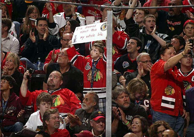 The wait hasn't been quite as long for some 'Hawks fans....