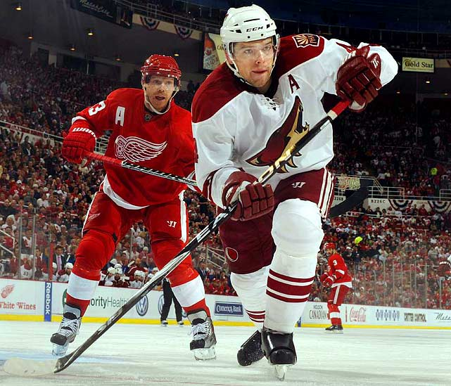 Signed with Pittsburgh Penguins (5 years, $20 million)  Has good size (6-2, 210) and smarts. Can play a shutdown role, man the point on the power play, and contribute in spots offensively.   2009-10 stats (Phoenix):   72 GP  3 G  14 A  17 Pts