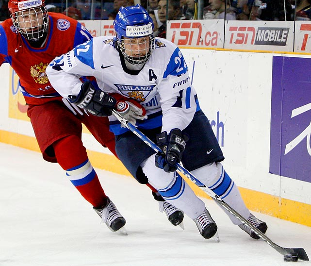 "European Scouting says:  ""Saku Koivu clone. He's small, but no one's told him he's small. He has a really good, winning attitude, works very hard. He's tough, and he has very good hockey sense."""