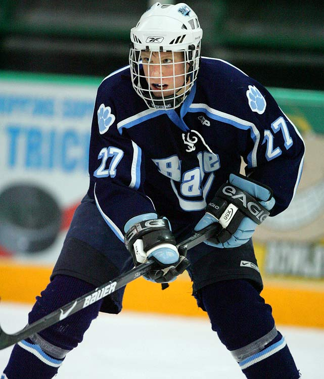 "Central Scouting says:  ""He's further along and more polished than (Boston's Blake) Wheeler. He's also a better skater than David Backes was at the same age (17). The only difference is Backes was thicker, but the ingredients are there. He wants the puck and to make plays. He's a blue-collar type kid who works his tail off."""