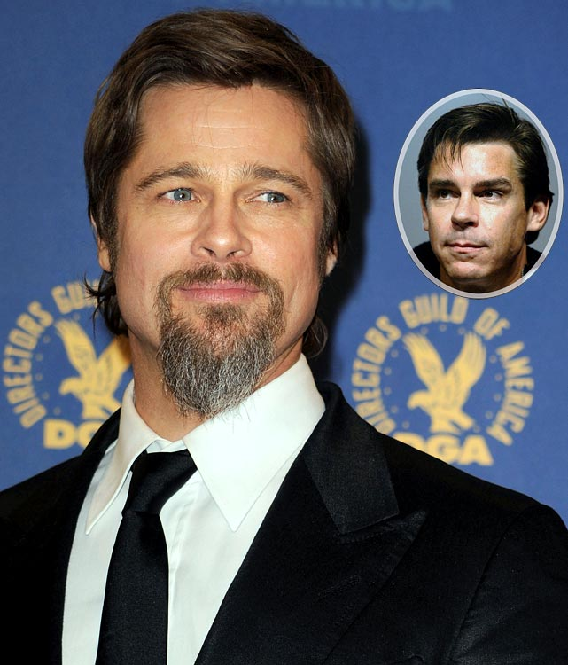 Good riddance goatee.  Brad Pitt will soon shave off all his facial hair for his role in the movie  Moneyball .  Pitt will play Oakland A's GM Billy Beane in an adaptation of the book  Moneyball: The Art of Winning an Unfair Game  written by Michael Lewis.
