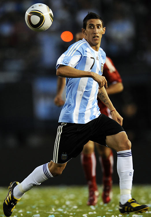 The relative newcomer on the international stage is considered one of the most exciting young wingers in the world. Though he's not known for scoring many goals, he's come up with some pretty important ones -- starting with Argentina's gold-medal-winner at the 2008 Olympics.
