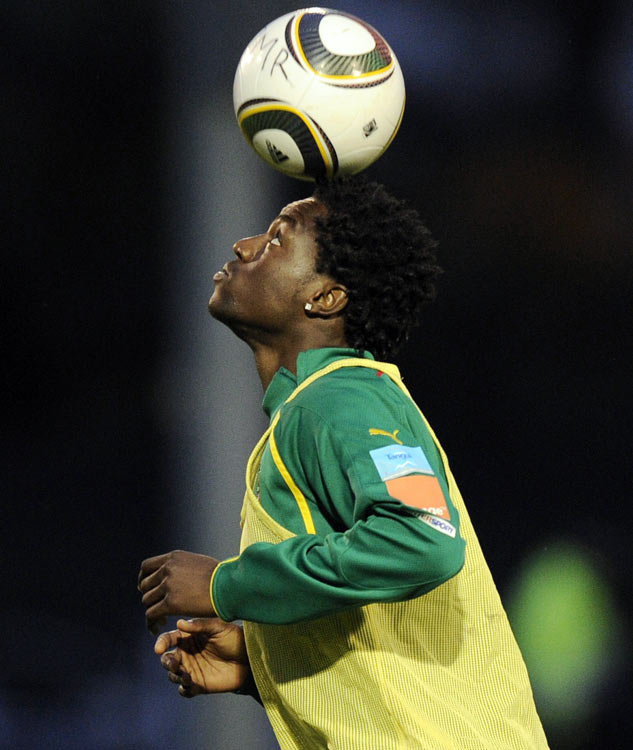 Nkoulou plays in midfield for Ligue 1's Monaco but has made a central defensive berth alongside Cameroon great Rigobert Song his own since joining the squad in 2008, and he looks to be Song's natural heir. A feisty tackler who won't pull out of a challenge, Nkoulou is a reliable decision-maker and, at 6-1, he doesn't often get caught out in the air, either.