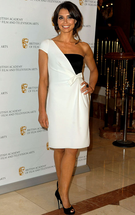 Christine Bleakley, girlfriend of Frank Lampard (Chelsea), attends the British Academy Television Craft Awards at London Hilton on May 23, 2010 in London.