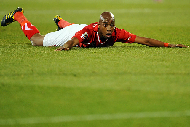 Switzerland produced the shocker of the World Cup with an opening 1-0 victory against Spain, but was held scoreless in its other two matches. Gelson Fernandes, who scored the Swiss' goal against Spain, couldn't manage a single shot all match.