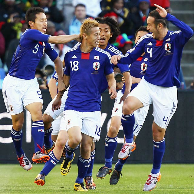 Japan was outscored 9-1 during a four-game losing streak leading up to the World Cup, but the 45th-ranked side is now in good position to advance to the second round for the second time in history.