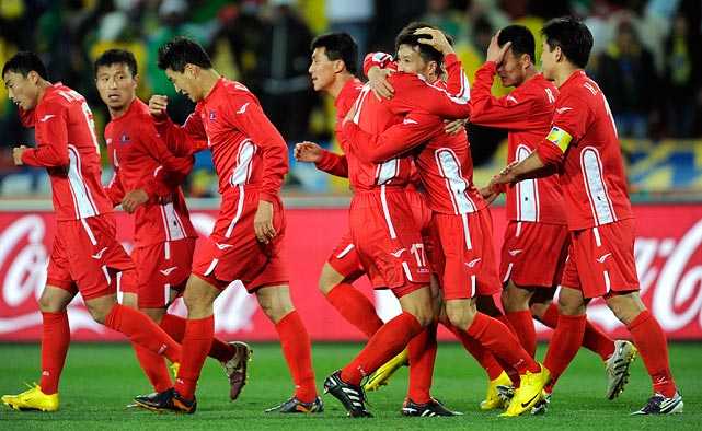 The North Koreans got on the board in the 89th minute with a goal from Ji Yun Nam -- a reason to celebrate for the 105th-ranked side in the world.