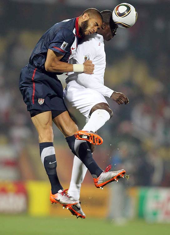 Oguchi Onyewo (left) played a big role in keeping England off the scoreboard after that first goal.